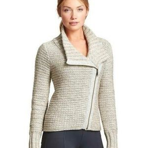 Athleta moto sweater